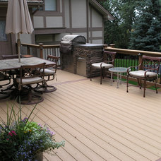 Traditional Patio by Shawn Miller
