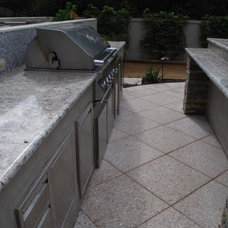 Contemporary Patio by Signature Pools & Landscapes