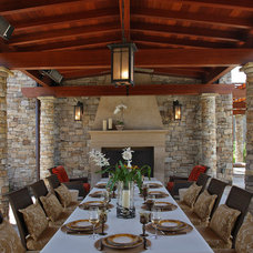 Mediterranean Patio by Sroka Design, Inc.