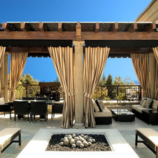 Mediterranean Patio by SUPERIOR AWNING INC