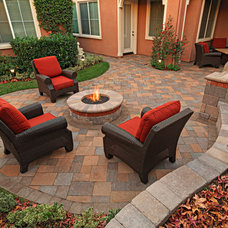 Modern Patio by System Pavers