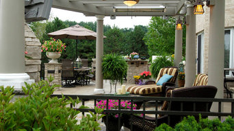 Outdoor entertaining and living space