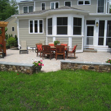 Traditional Patio by O'Grady's Landscape