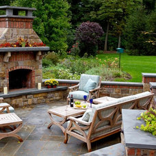 Traditional Patio by Deborah Cerbone Associates, Inc.