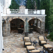 Mediterranean Patio by Legacy Landscapes, Inc.