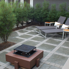 Contemporary Patio by Gardens of Growth