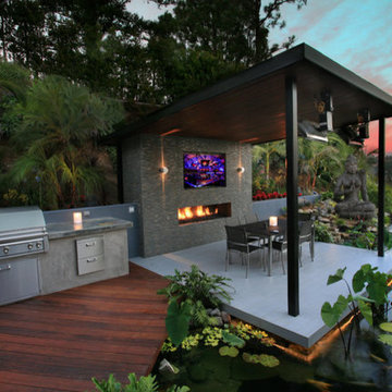 Outdoor Entertainment Areas with Emser Tile