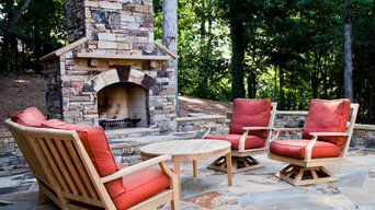 Outdoor Entertainment Fireplaces