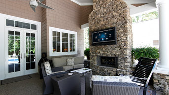 Outdoor Entertainment Living Space