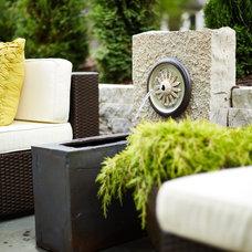 Contemporary Patio by DiGiacomo Homes & Renovation
