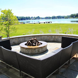Outdoor Firepits - Rivertown Landscapes LLC