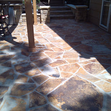 Traditional Patio by Sturgis Material Inc