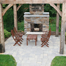 Traditional Patio by Green Apple Design