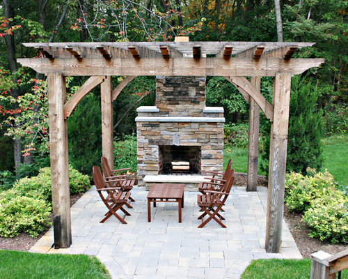 Pergola And Fireplace Ideas Pictures Remodel And Decor