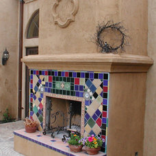 Eclectic Patio by Nunley Custom Homes