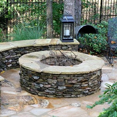 Traditional Patio by Georgia Classic Pool