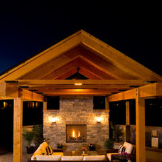 Traditional Patio by Rentfrow Design, LLC