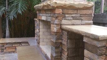 Outdoor Fireplace, Seating/Storage, Summer Bar
