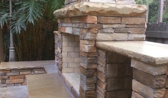 Outdoor Fireplace, Seating/Storage, Summer Bar