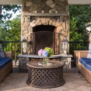 Outdoor Fireplace Design Ideas | Houzz