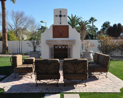 Spanish Style Fireplace Home Design Ideas Pictures Remodel And Decor