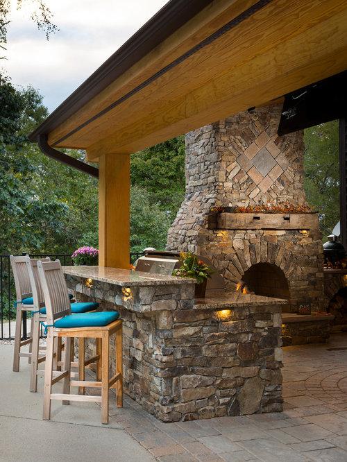 Backyard patio design ideas remodels photos houzz for Como decorar un patio exterior rustico