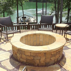 Traditional Patio by Elements Landscape