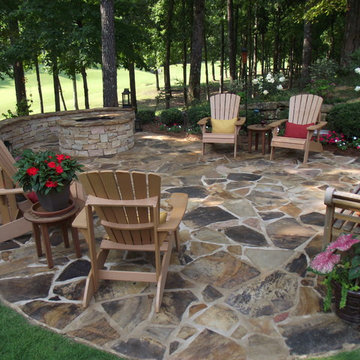 Outdoor Fireplaces & Isokerns