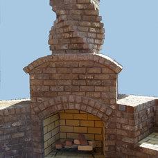 Contemporary  by Pine Hall Brick Company