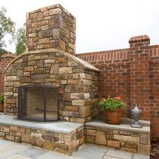 Traditional Patio by Pine Hall Brick Company