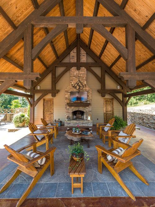 Rectangular Backyard Design | Houzz on Rectangular Backyard Design id=98570