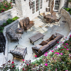 Traditional Patio by Linly Designs