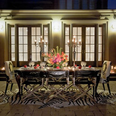 Eclectic Patio by Lucid Interior Design Inc.