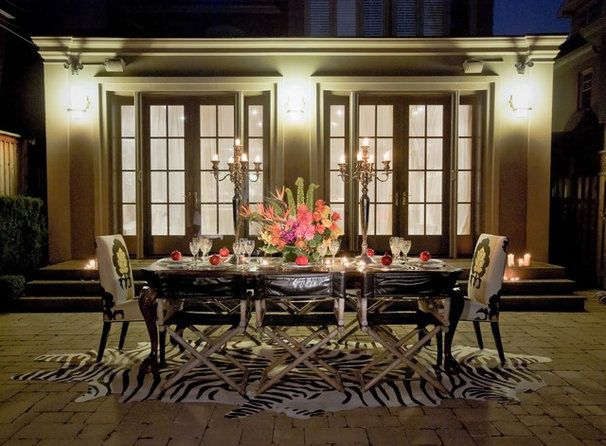 Traditional Patio by Lucid Interior Design Inc.