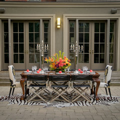 eclectic exterior by Lucid Interior Design Inc.