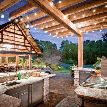 Outdoor Gourmet Kitchen