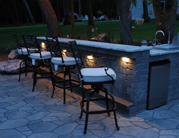 Outdoor grill/bar locations