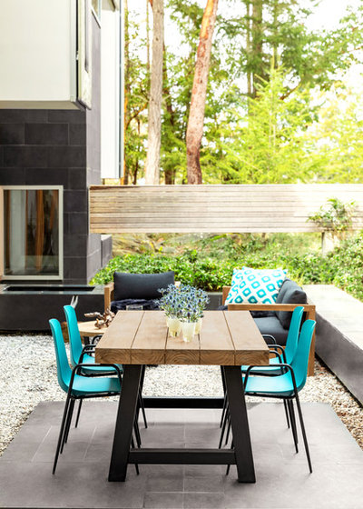 Contemporary Patio by Article