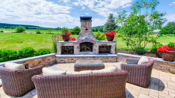 Outdoor Kitchen and Fireplace Lititz PA Project