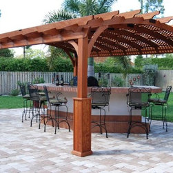 Outdoor Kitchen and Pergola -