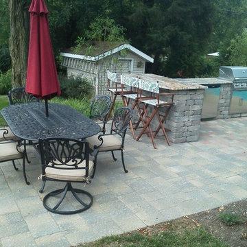 Outdoor Kitchen & Pool deck