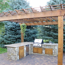 Traditional Patio by Picture Perfect Landscapes & Designs