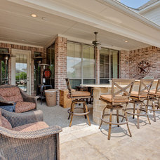 Rustic Patio by DFW Improved