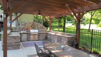 Outdoor Kitchen Brentwood TN Fournier
