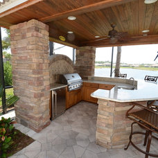 Traditional Patio by Da Vinci CABINETRY LLC