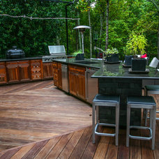 Modern Patio by Cabinets Of Atlanta Inc.