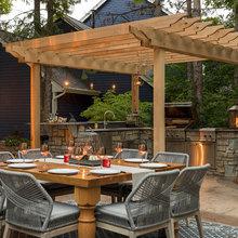 Johnson outdoor kitchen