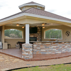 Traditional Patio by DWR Construction (Doing What's Right Construction)