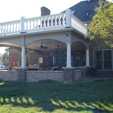 Traditional Patio by Suzanna Ivey Design