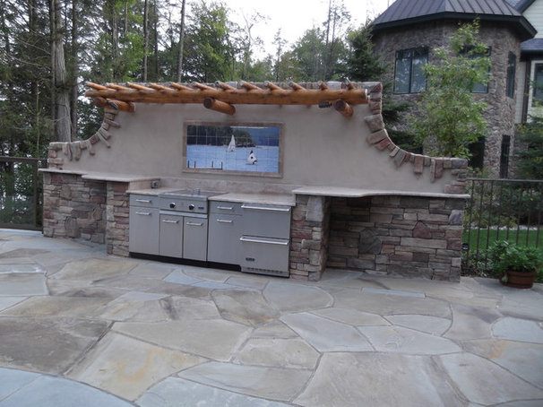 Traditional Patio by Aesthetic Tile Imaging